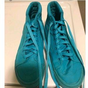 High top vans shoes tilt color not leather